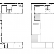 W house - floorplan © AZL architects