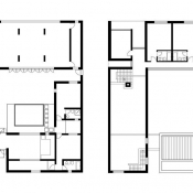 Y house - floorplan © AZL architects