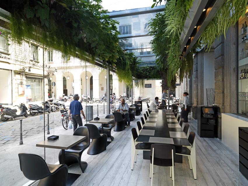 I giardini verticali metropolitani tetti e terrazzi - Giardino verticale madrid ...