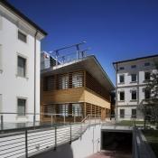 Sede centrale della Banca Etica di Padova - Progetto dello studio Tamassociati - Venezia