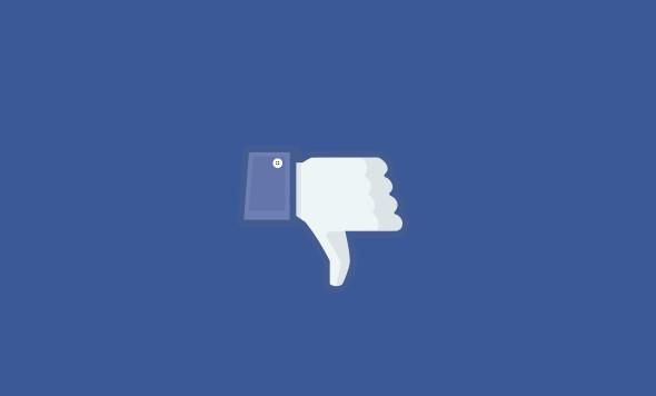 Facebook upsidedown copy