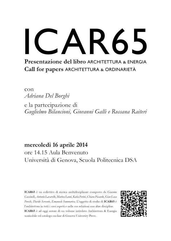 ICAR65_locandina 160414