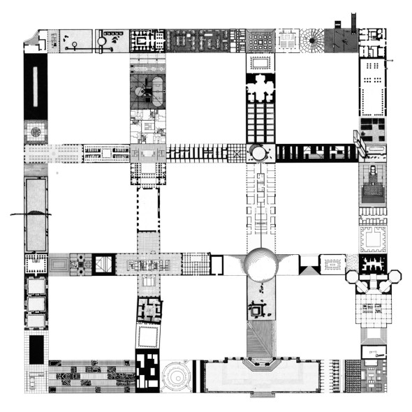 Beyond blogging archive of affinities zeroundicipi it for Architecture 9 square grid