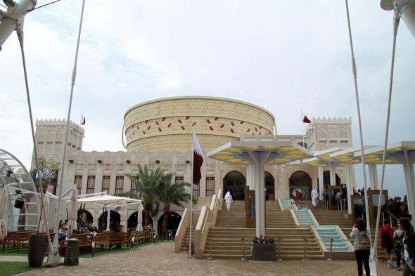 padiglione qatar 2