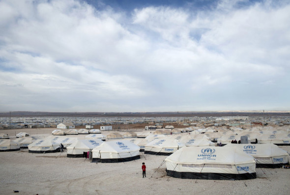 Fig 14 - tents zaatari